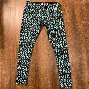 Nike mint/black leggings